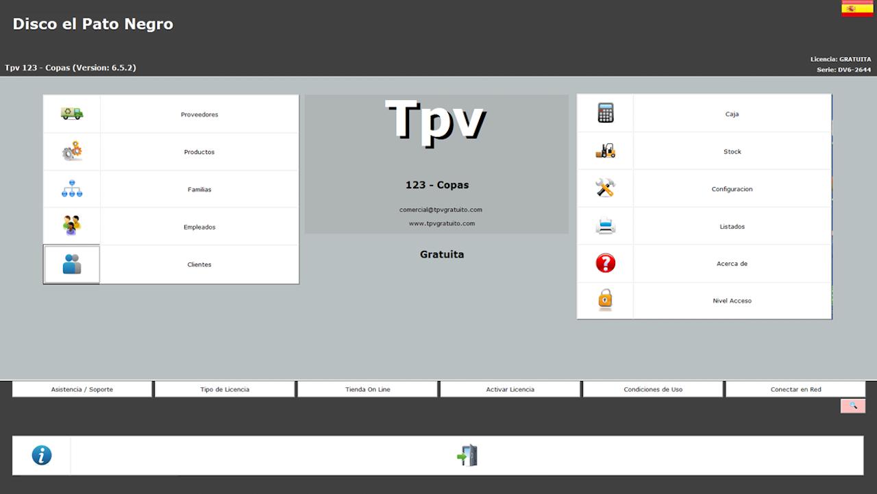 TPV 123 Copas